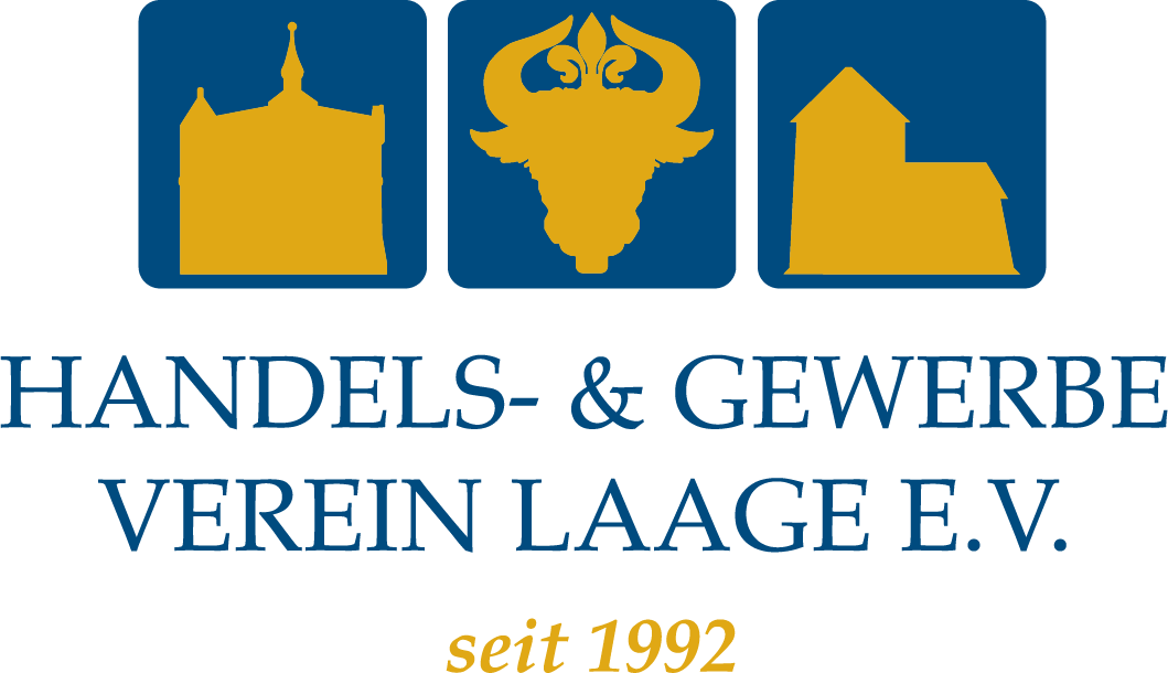 Logo Handels- Und Gewerbeverein Laage Farbig