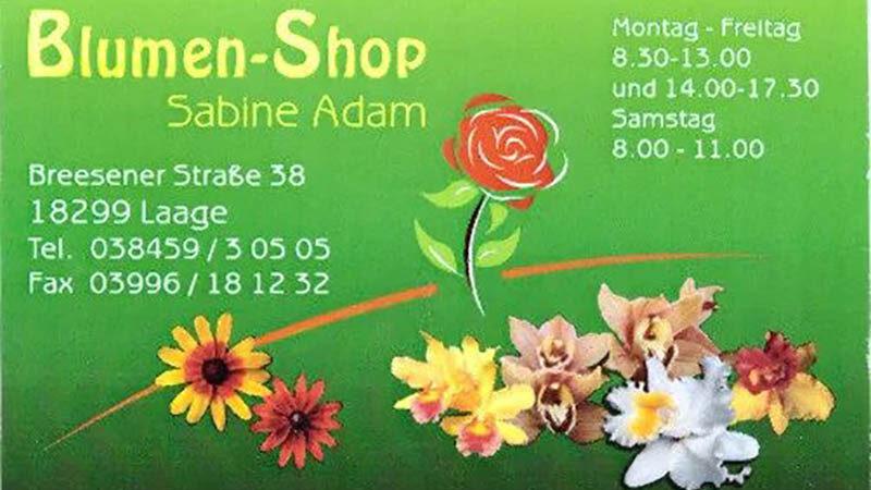Blumen-Shop Sabine Adam